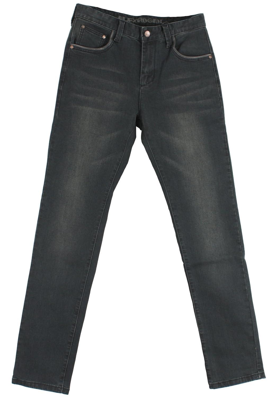 A795 Basic Washing Back Pocket Denim Jeans Punk Rock 30~46 Plus Size Long Pants