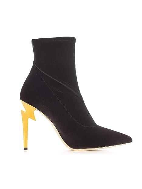 Giuseppe Zanotti Design Mujer I870011001 Negro Terciopelo Botines