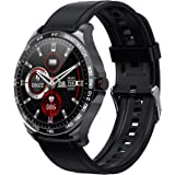"""Smart Watch Fitness Tracker, 1.3"""" Full Touch Screen Sport Smartwatch with Step Counter, Heart Rate Monitor Pedometer Sleep Ac"""