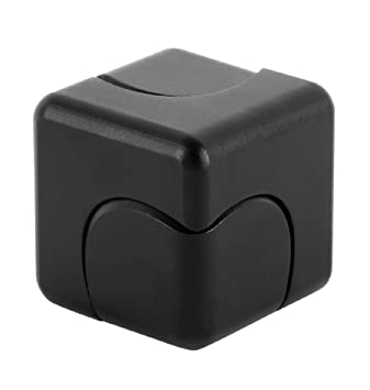 230f336ae9ae iSpnOmatic – Spinning Fidget Cube of Aerospace Grade Aluminium with  Magnetic Support middle block fitted with