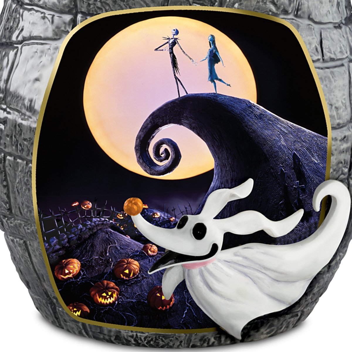 The Nightmare Before Christmas Cookie Jar With Jack Skellington ...