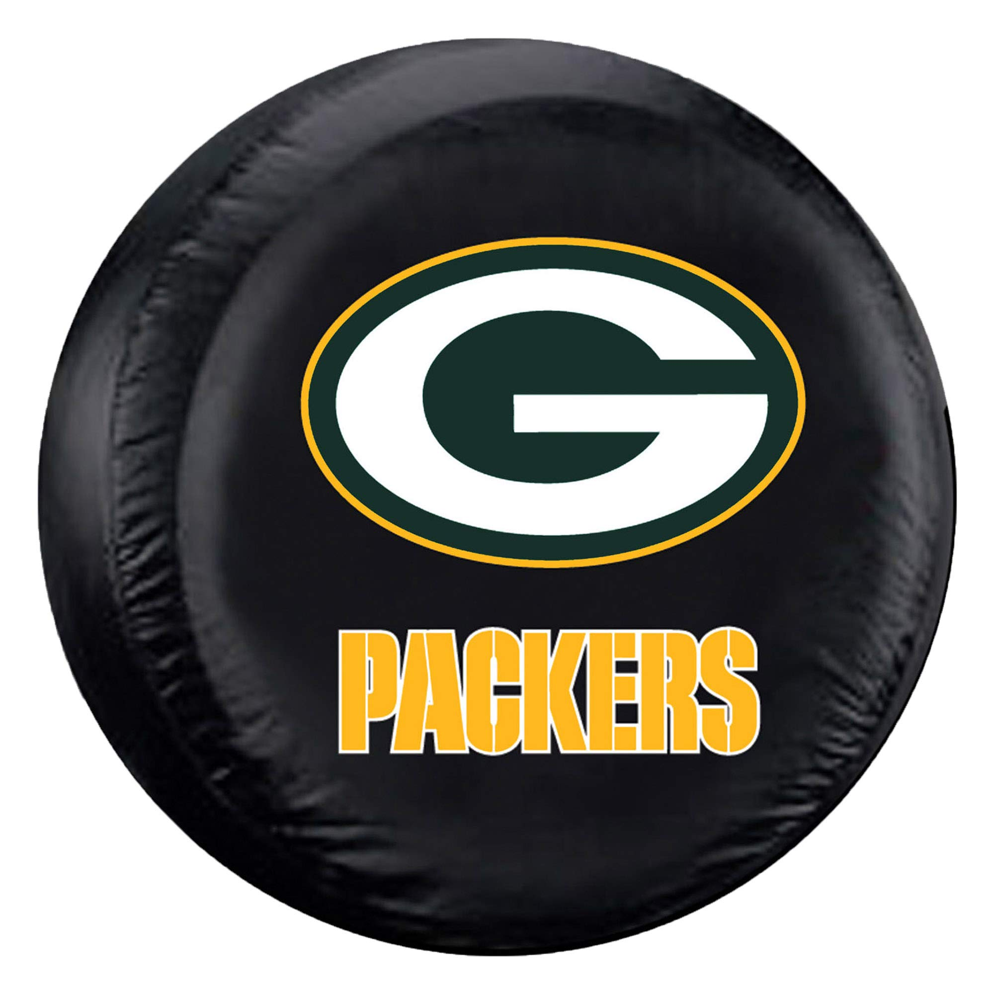 Fremont Die NFL Green Bay Packers Tire Cover, Large Size (30-32'' Diameter) by Fremont Die