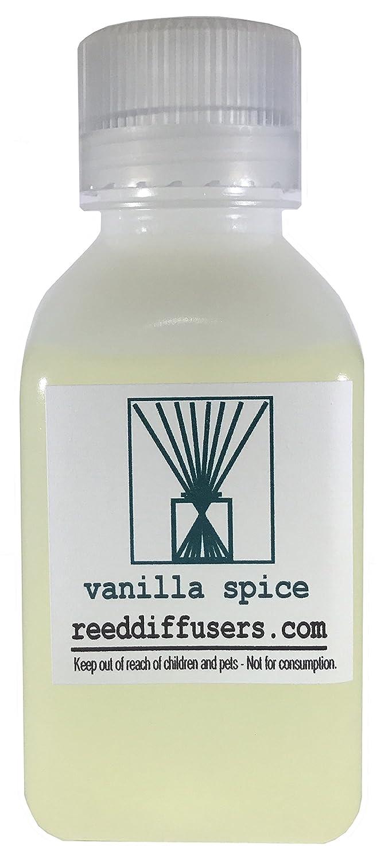 Vanilla Spice Fragrance Reed Diffuser Oil Refill – 8oz – Made in the USA B06XTD1LV3
