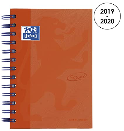Amazon.com : Oxford 100735778 School Soft Touch 2018-2019 ...