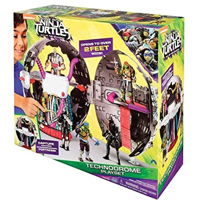 Amazon.com: Teenage Mutant Ninja Turtle – Technodrome ...