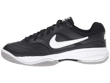 ea2eea2662412 Nike Men's Court Lite Tennis Shoes (WIDE) (10 E US, Black/