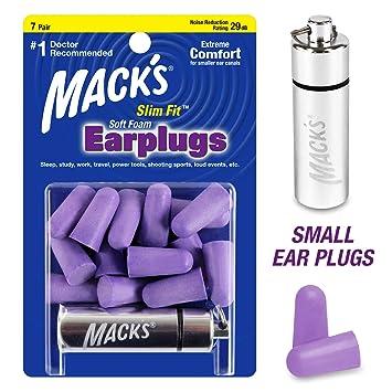 Mack/'s Original Suave Espuma Tapones para los oídos 5 pares de disparo de viaje de estudio de trabajo de sueño