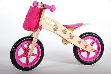 Bicicleta niña sin pedales de madera de 12 pulgadas 3 4 5 6 años ...