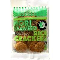 Spiral Foods Nori Seaweed Oven Baked Crunchy Rice Crackers 50 g