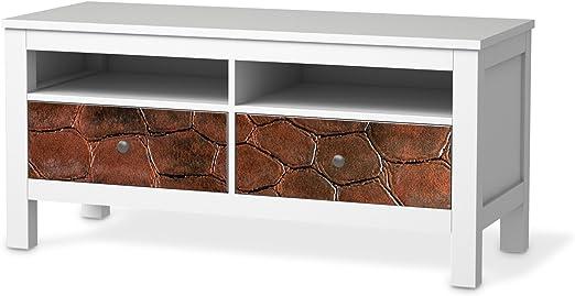 Los muebles-diseño de tatuaje de para IKEA Hemnes TV-banco de 2 cajones | Adhesivo