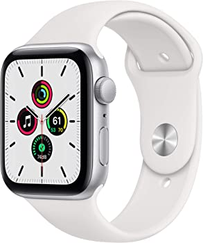 Apple Watch SE 44mm GPS Smartwatch (White)