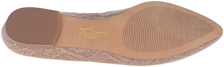 Trotters Women's Estee Ballet Flat B019R1Z1AQ 6 W US|Nude