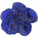 Künstlichen Korallen Anlage Fälschung Weichen Ornament Dekor Für Aquarium Blau