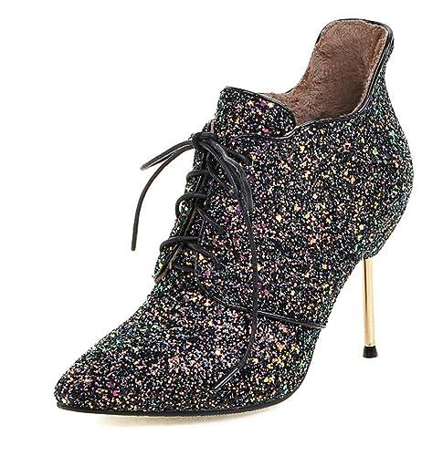 WSS Shoes - Zapatillas de triatlón para niña negro negro: Amazon.es: Zapatos y complementos