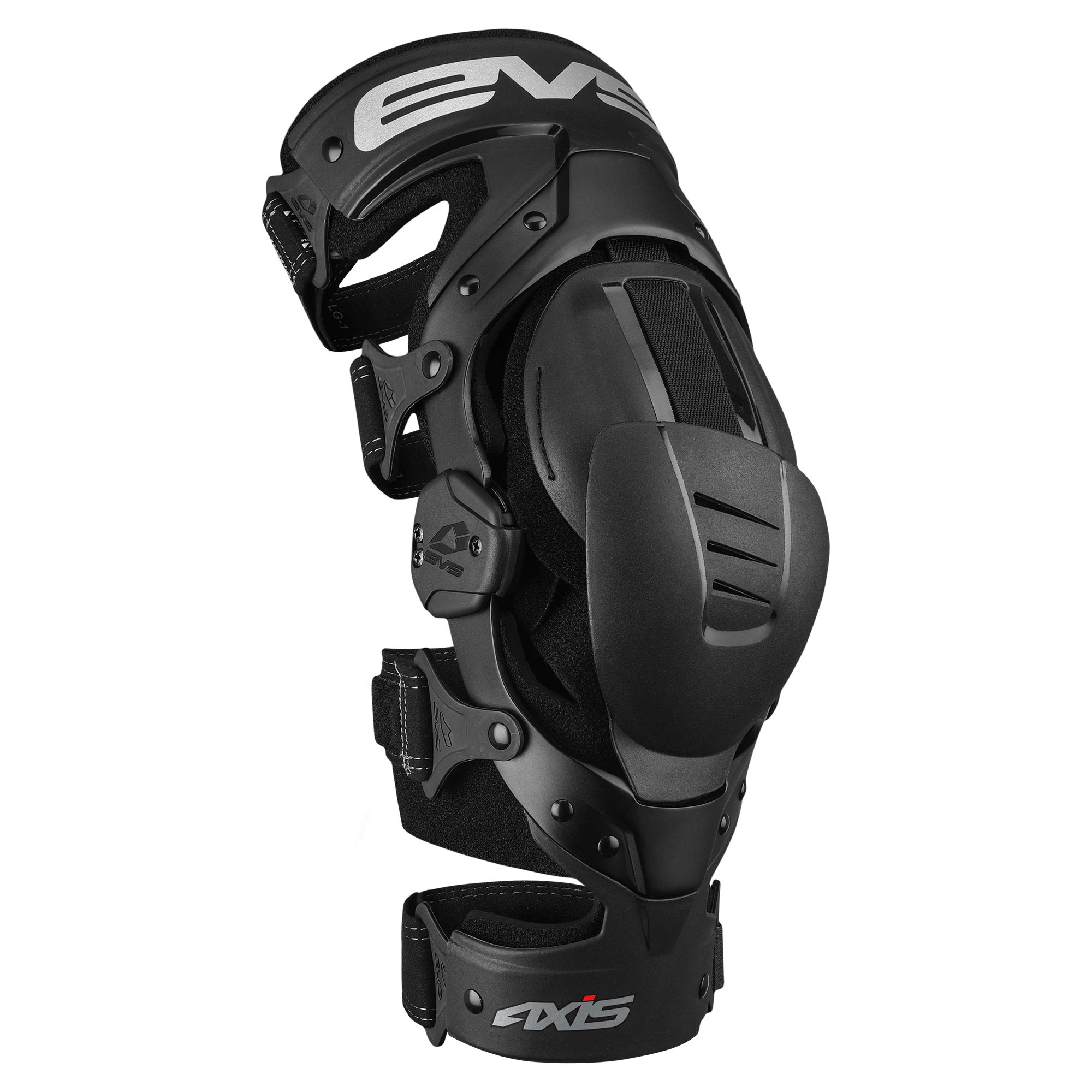 EVS Sports Unisex-Adult Axis Sport Knee Brace - Single (Black, Small, Right)
