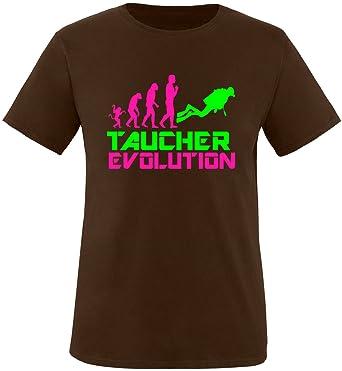EZYshirt® Taucher Evolution Herren Rundhals T-Shirt