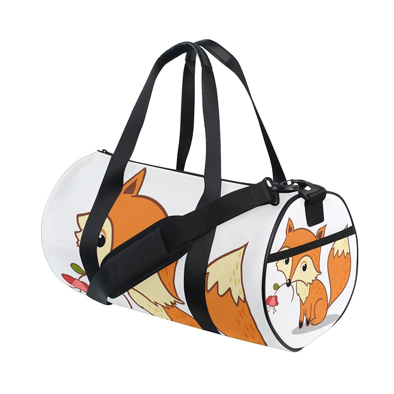 3ad0162359ee Amazon.com : OuLian Gym Bag Bling Whale Women Yoga Canvas Duffel Bag ...