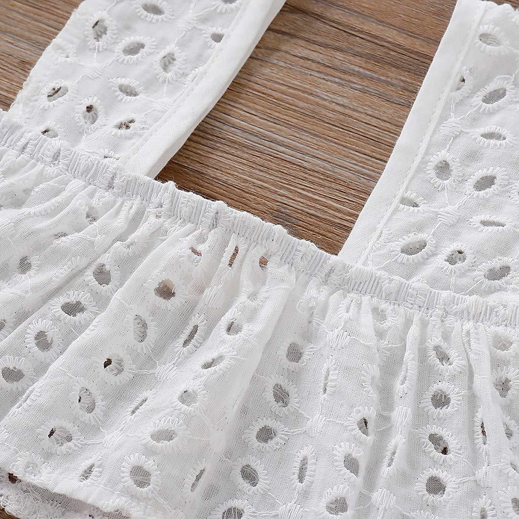 Fabal Children Kids Girls Sleeveless Suspender Print Tops+Bow-Knot Shorts Set Outfit