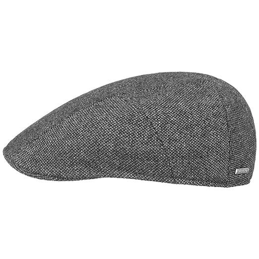 Stetson Ridge Wool Flat Cap Men at Amazon Men s Clothing store  b39f78b935f1