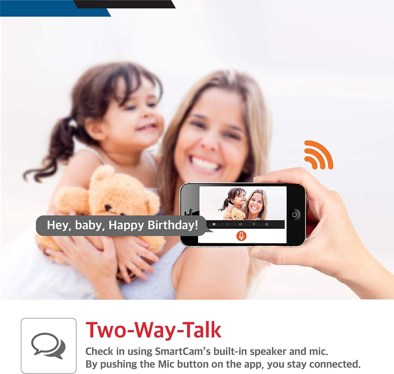 C/ámara Wi-Fi Full HD Blanco 1080p Samsung SNH-C6417BN SmartCam