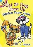 Cat & Dog Dress Up Sticker Paper Dolls (Dover Little Activity Books Paper Dolls)