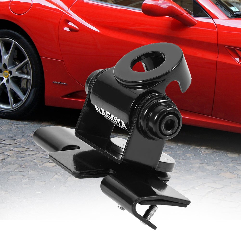 fosa Antenna Bracket 360° Angle Adjustable Bracket Stand Mount for Car Vehicle Mobile Radio Antenna Mounted on Iron Sheet, Rear Tail Gate, Side Door, Engine Cover etc