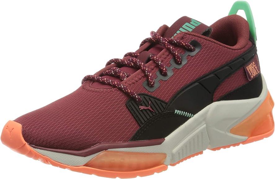PUMA LQDCELL Optic FM WNS, Zapatillas de Running para Mujer, Rojo (Burnt Russet Black), 36 EU: Amazon.es: Zapatos y complementos
