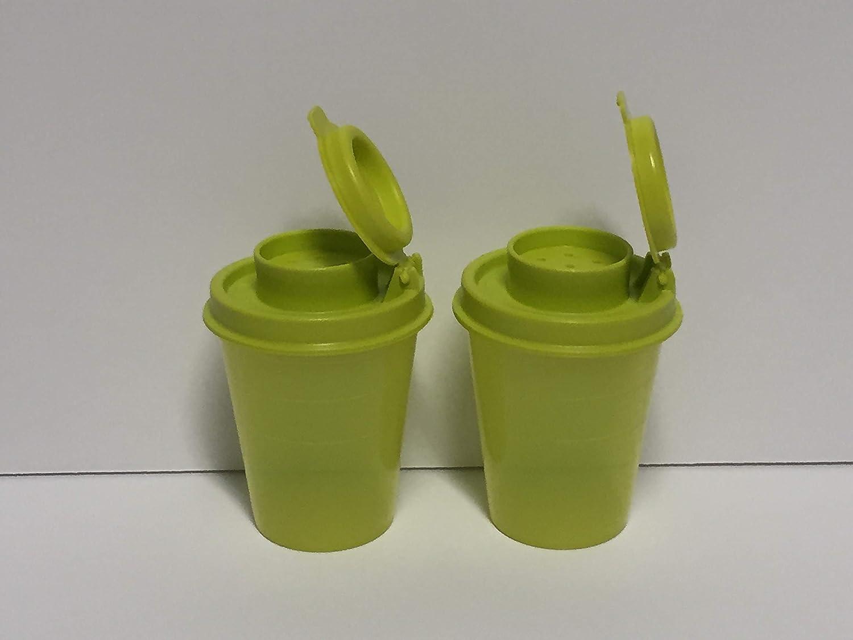 Tupperware Mini Salt and Pepper Shakers ASDFASF