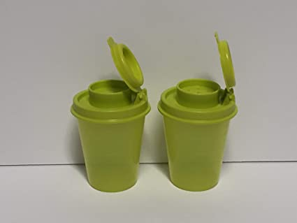 Amazoncom Tupperware Mini Salt And Pepper Shakers Kitchen Dining