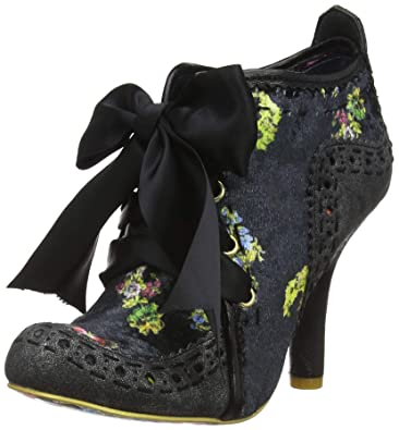353b5cf362303 Irregular Choice Women s s Abigail s Third Party Ankle Boots Black Pewter  Cc