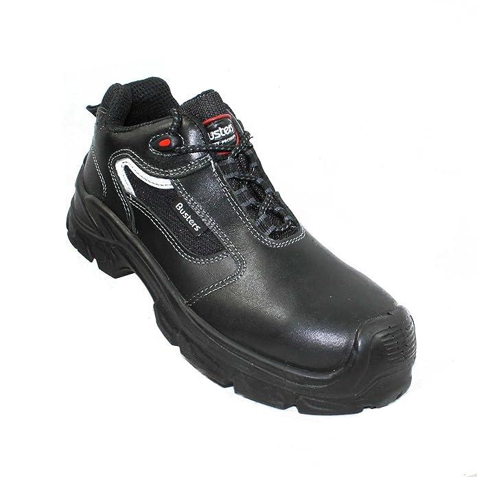 Braga busters chaussures de sécurité norme s3 sRC chaussures berufsschuhe businessschuhe plat noir - Noir - Noir, 41