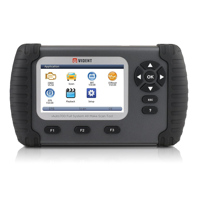 Mrcartool IAUTO700 4.3 LCD Professional Full System Diagnostic Tool Oil Reset EPB ABS SAS Airbag Reset DPF Regeneration Throttle Body Alignment Battery Configuration