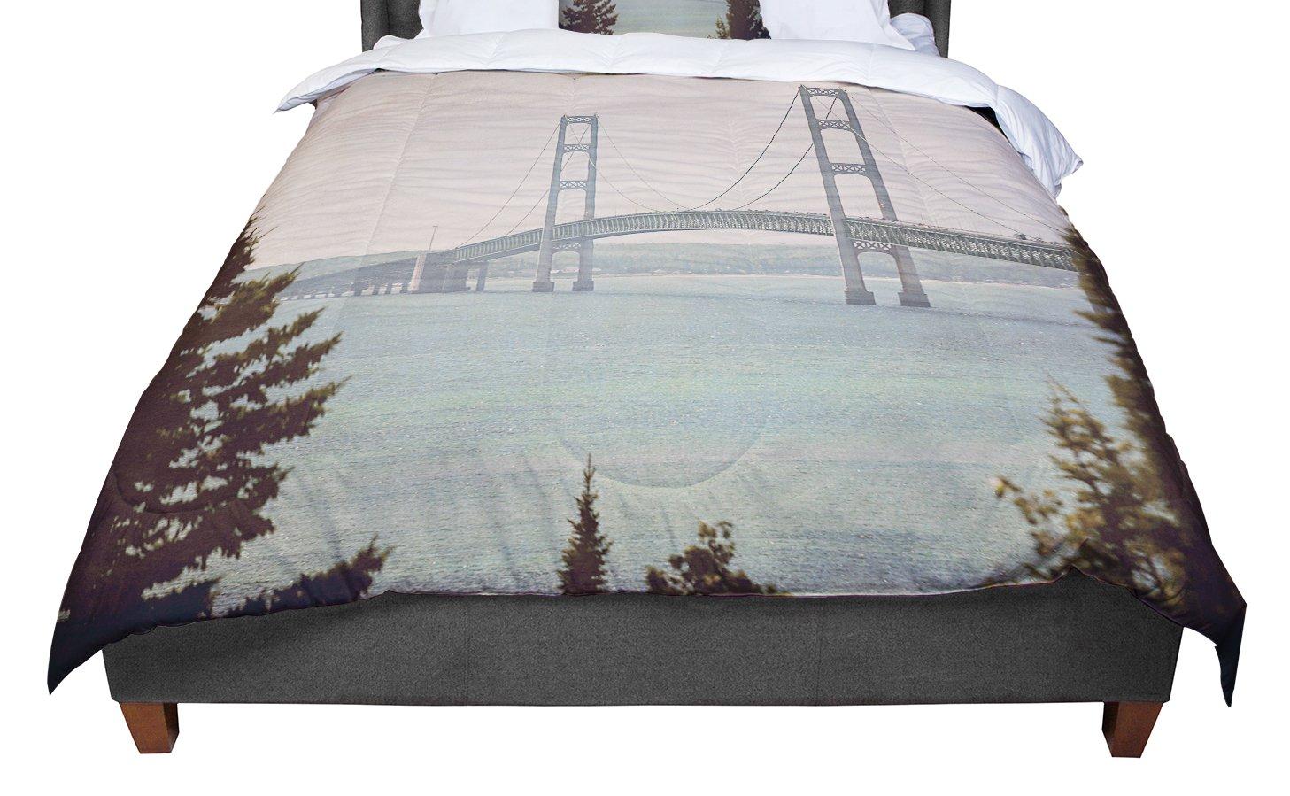 80 x 60 Fleece Blanket Kess InHouse Just L Versus Spray Blk Gld Abstract Illustration Throw