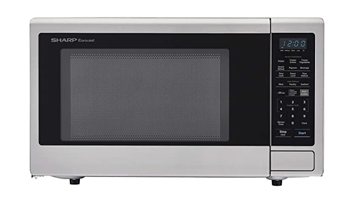 Sharp ZSMC2242DS Countertop 1200 Watt Microwave Oven, 2.2 cu. ft, Stainless Steel