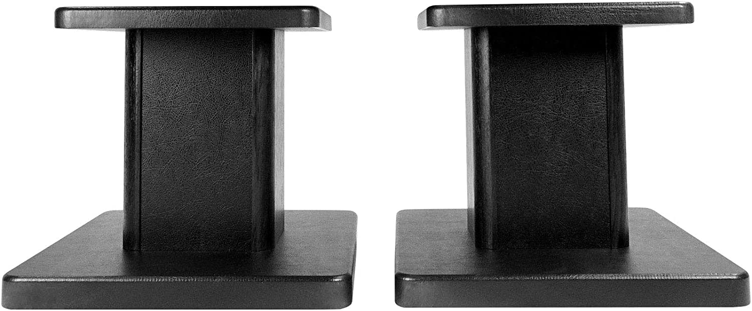 Rockville Pair Computer/Bookshelf Desktop Speaker/Studio Monitor Stands (RHT8G)