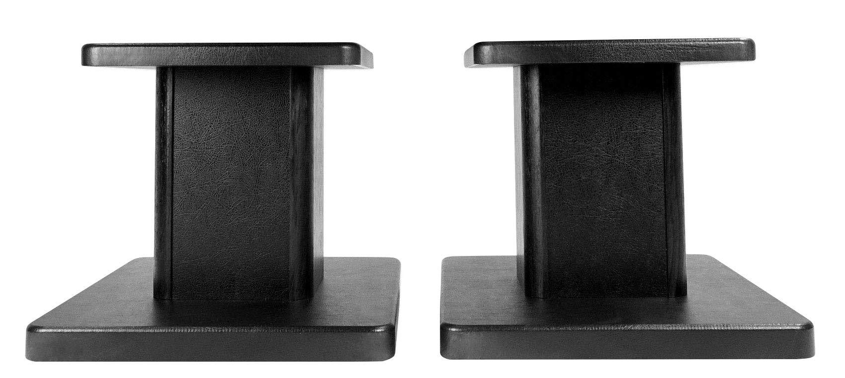 Rockville Pair Computer/Bookshelf Desktop Speaker/Studio Monitor Stands (RHT8G) by Rockville