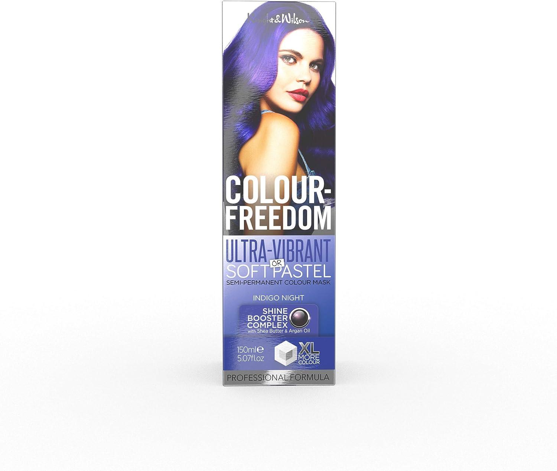 Knight & Wilson Color Freedom Indigo Night - Tinte para cabello no permanente