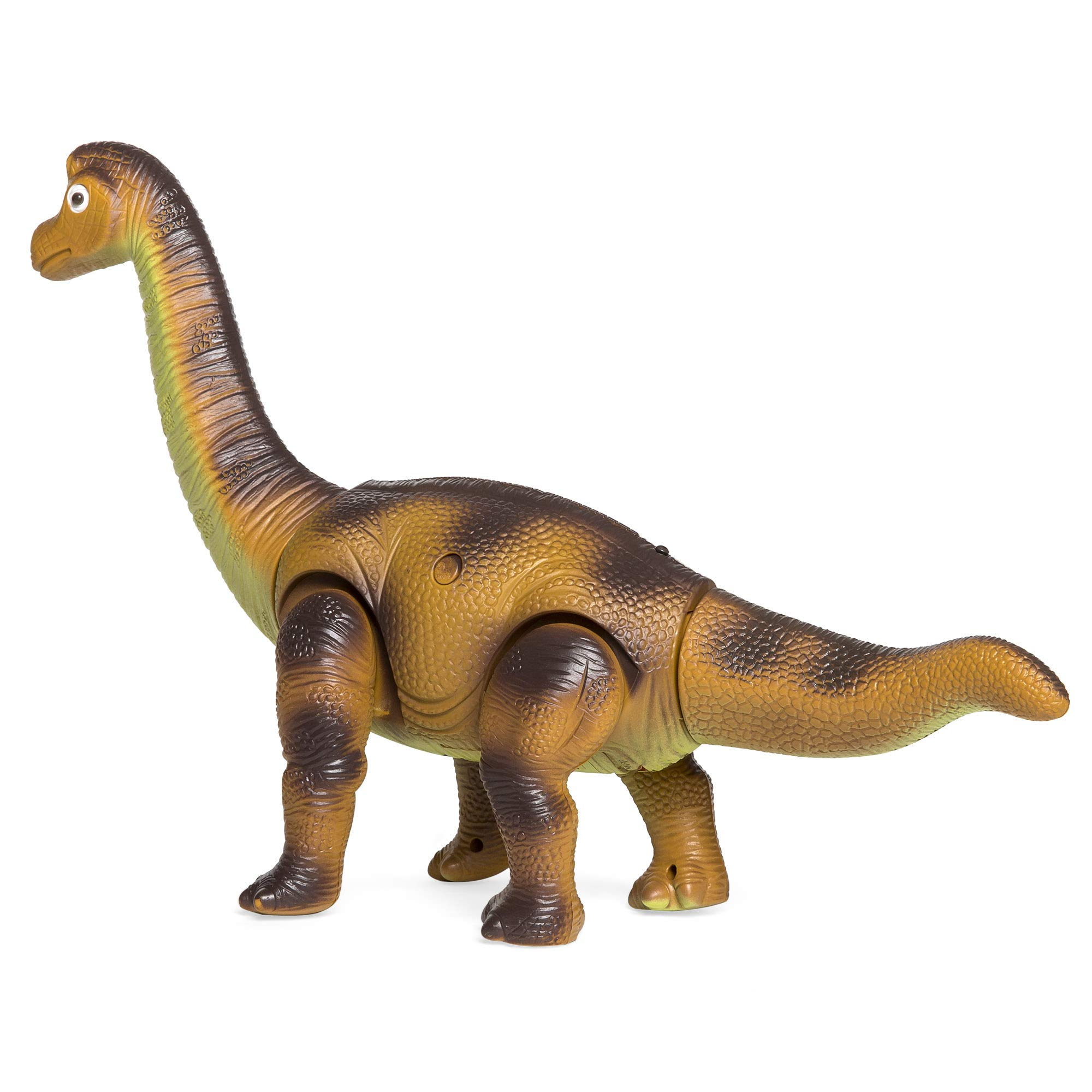 Best Choice Products 17.5in Kids RC Stomping Brachiosaurus Dinosaur Electric Animal Toy Robot w/ Light Up Eyes, Roaring Sounds, Swinging Head, Remote Control by Best Choice Products (Image #4)