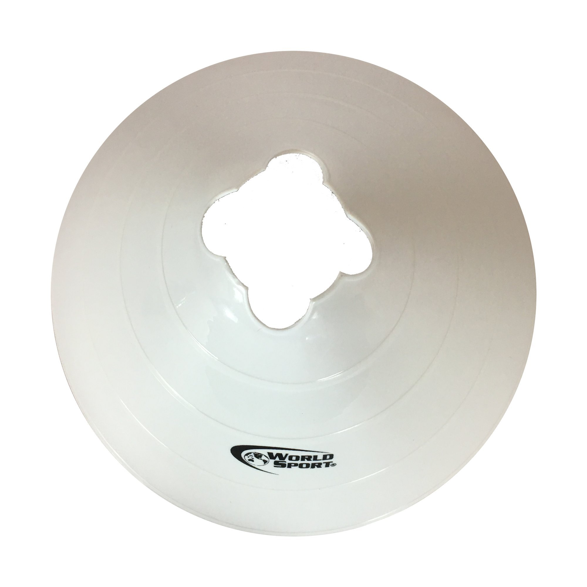 World Sport Large Multi Color (Red White Blue) Disc Cones by World Sport (Image #4)