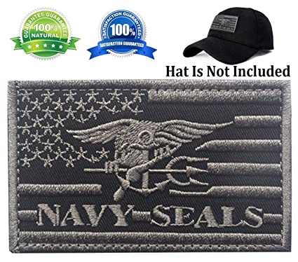 663092d25 Patch USA American Flag Navy Seals Patch Military Tactical Morale Badge  Patch Embroidered Patch 3.15