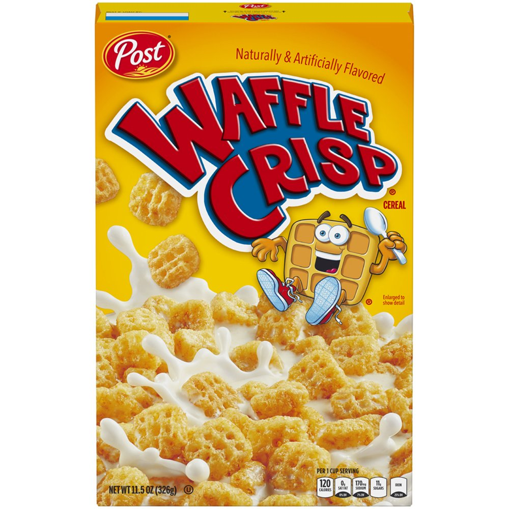 Amazon.com: Post Waffle Crisp Cereal, 11.5-Ounce Boxes
