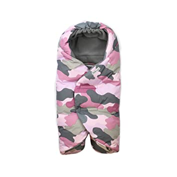 110eb0424 Amazon.com   7 A.M. Enfant Nido Quilted (Camo Pink