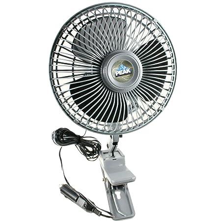 Amazon Com Peak Pkc0jh 01 6 Inch Oscillating Fan Automotive