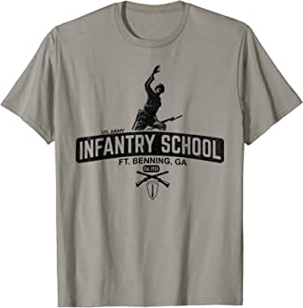 XL WWII Fort Benning Georgia Infantry T Shirt Repro w Spec Tag Men/'s sz S
