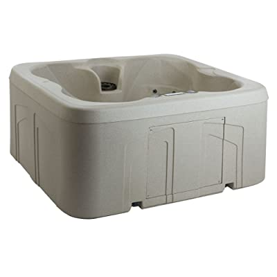 LifeSmart Rock Solid Simplicity Hot Tub Spa