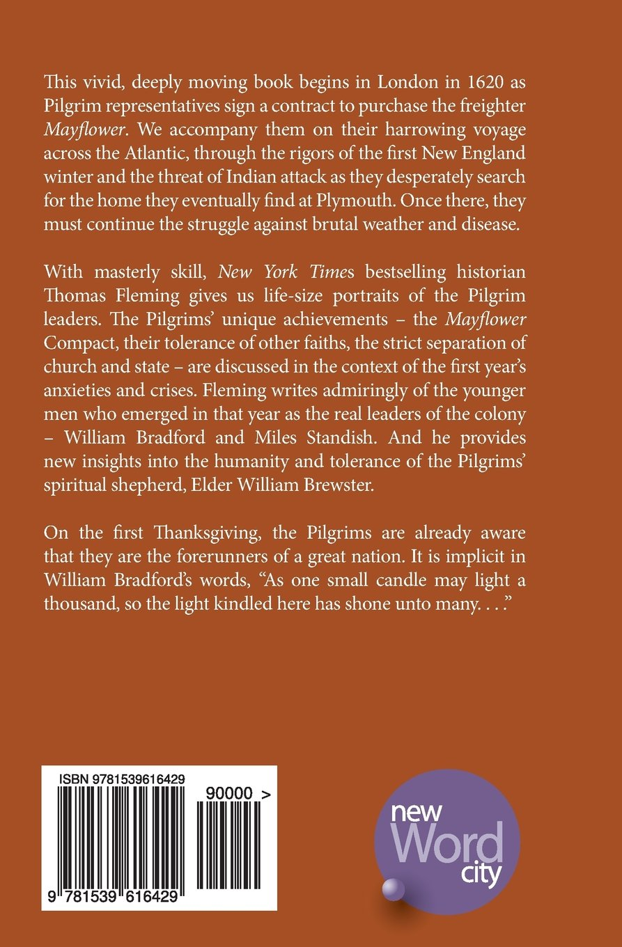 One Small Candle: The Pilgrims' First Year in America: Thomas Fleming:  9781539616429: Amazon.com: Books