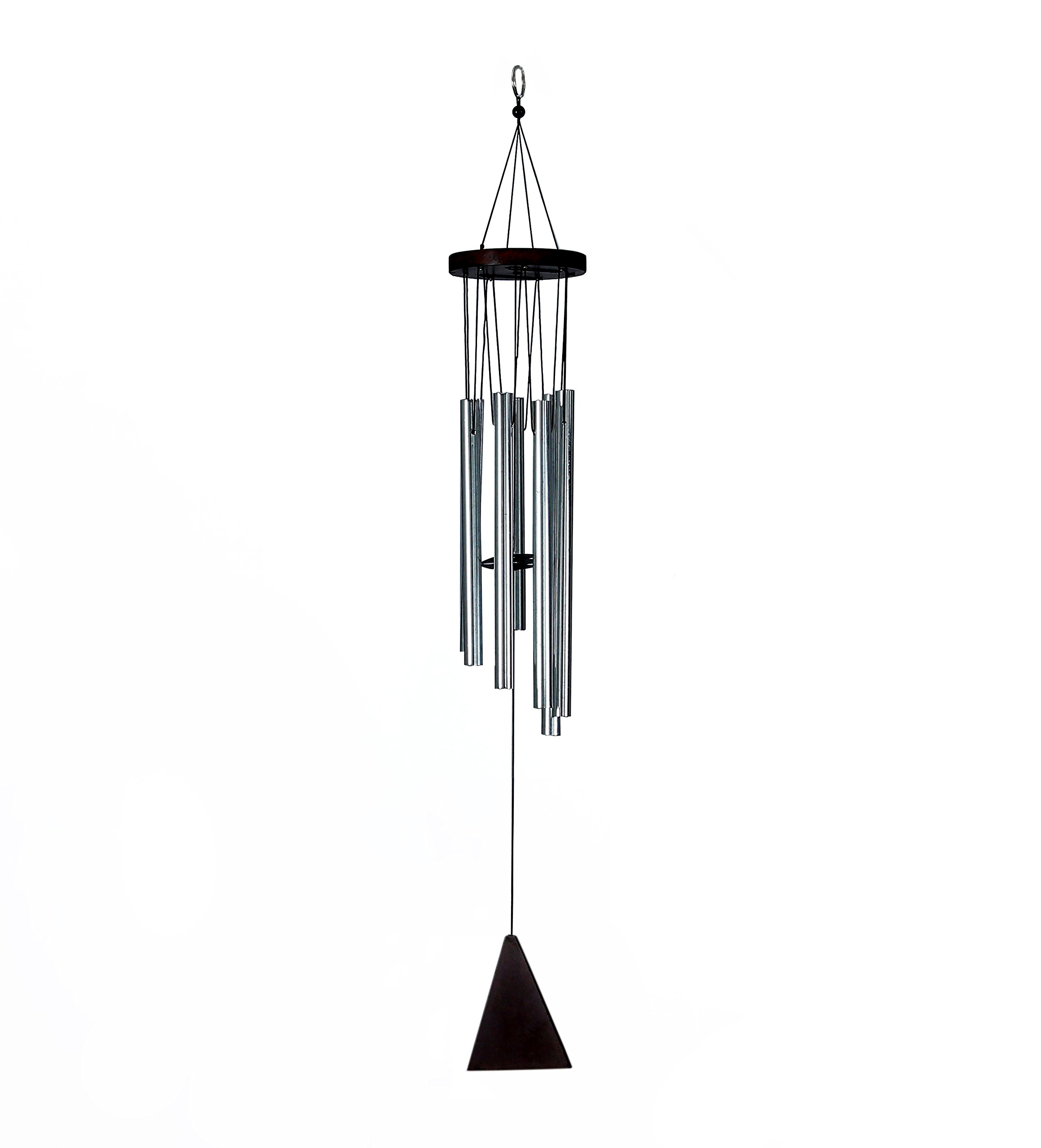 Skynet 7 Pipe Silver Color Wind Chimes for Home, Balcony and Bedroom Positive Energy, Wind Chimes with Good Sound-Silver Wind Chimes (B07CW99G82) Amazon Price History, Amazon Price Tracker