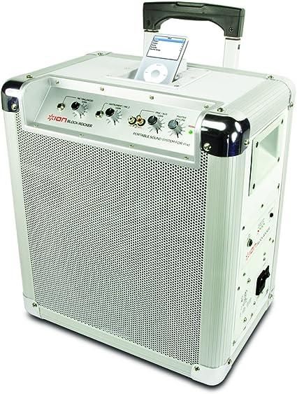 ION Audio Block Rocker Portable PA System for iPod: Amazon.co.uk
