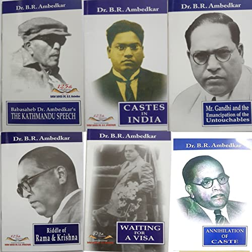 Babasaheb Dr.Ambedkar's The Kathmandu Speech;Caste in India;Waiting For A Visa;Riddle of Rama & Krishna;Mr.Gandhi and the Emancipation of the Untouchables;Annihilation Of Caste