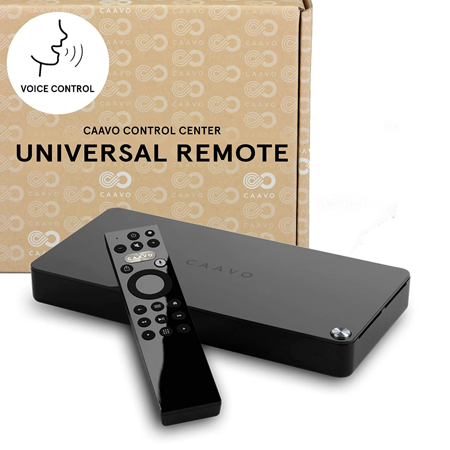 591e6de10a0 Caavo Universal Remote and Smart Home Theater Hub/HDMI Switch with Voice  Control for Roku, Apple TV, Nvidia Shield, Streaming Sticks, Sonos,  Netflix, Hulu, ...
